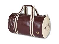 Vintage Fred Perry sports bag