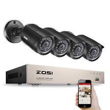 ZOSI 8CH TVI/CVI/AHD/960H 720P DVR 1500TVL Caméra 4-En-1 Système de Surveillance