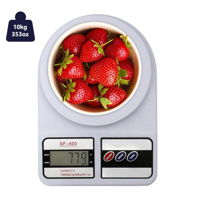 10KG x 1g Digital Electronic Kitchen Food Diet Postal Scale Weight Balance