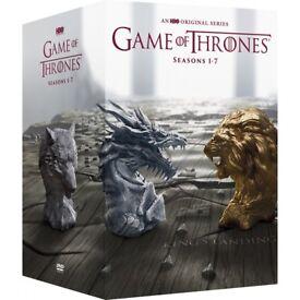 Game of thrones season 1-7 complete 34 dvd boxset