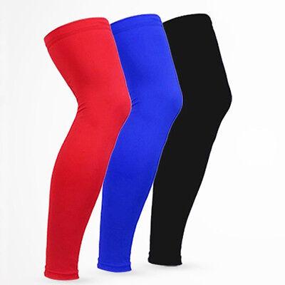 Cool Sports Gear Antislip Leg Knee Protector Gear Cover Long Sleeves Basketball