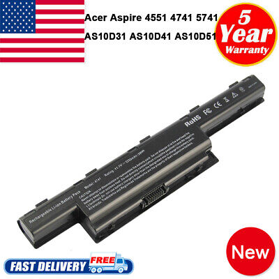 Battery for Acer Aspire AS10D31 AS10D56 AS10D75 AS10D71 5750 5742Z 7741 PC Fast