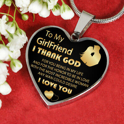 To My Girlfriend Necklace Best Gift For Girlfriend
