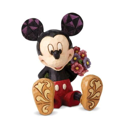 Jim Shore Disney Traditions Mini MICKEY MOUSE with Flowers Figurine 4054284 NEW