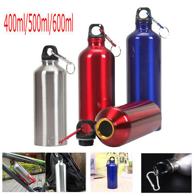 Exercise Bike Sports Water Bottles Container Drinking Kettle Aluminum Outdoor