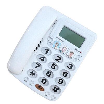 Corded Home Office Landline Speaker Phone With Caller Id Desk Decor