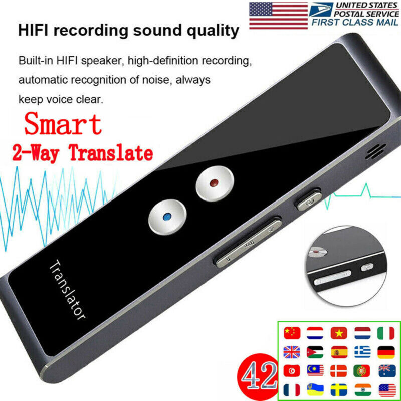 Two-Way Real Time Fast Translaty MUAMA Enence Smart Instant Voice Translator USA
