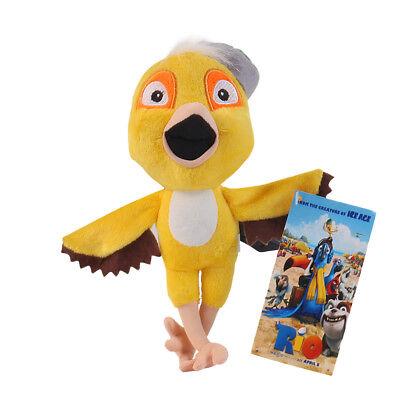 Rio The Movie Plush Doll Nico Yellow Bird Stuffed Toy 8.5 inch Xmas Gift US Ship