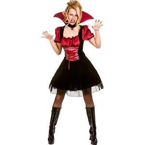 Ladies Halloween Costumes V&ire  sc 1 st  eBay & Vampire Costume | eBay