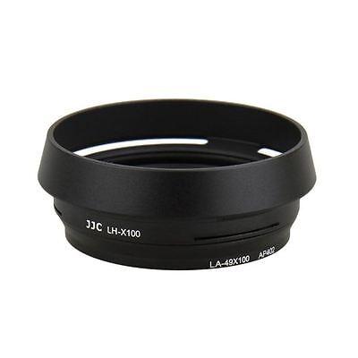 JJC Black Lens Hood Adapter for Fujifilm X100 X100s X100T