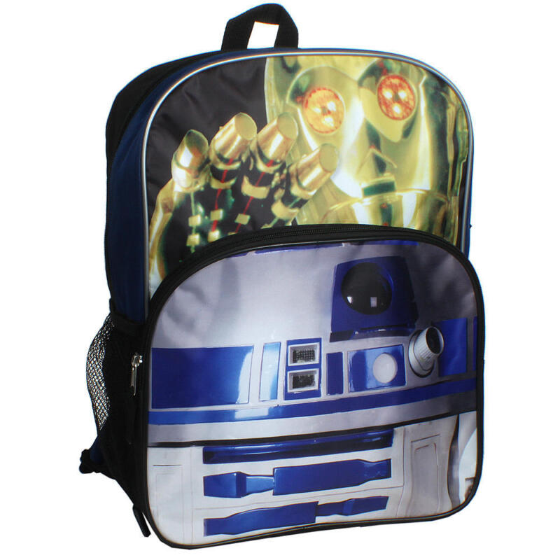 "Star Wars The Droids 16"" Backpack New With Tag"