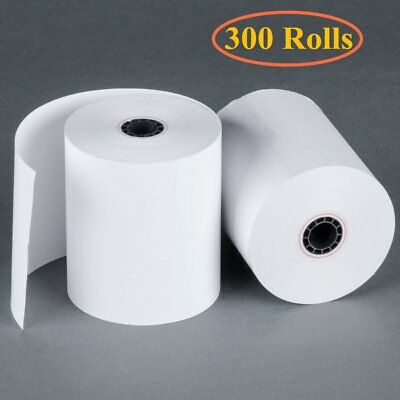 2 14 X 50 Thermal Receipt Register Pos Cash Paper Credit Card Fd400 300 Rolls