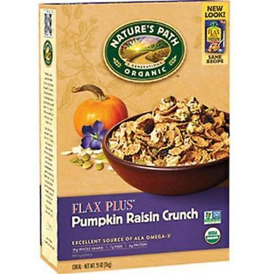 - Nature's Path-Flax Plus Pumpkin Raisin Crunch Cereal (12-12.35 oz boxes)