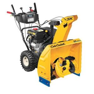 Cub Cadet Non-Current Snowblower Clearance - 3X26HD - only $1399.00 - Sale till Nov 15th only