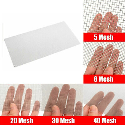 58203040 Mesh 304 Stainless Steel Woven Wire Filtration Filter Sheet 15x30cm