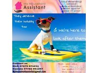 Dog Boarding services for holidays