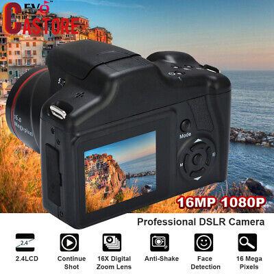 16MP 1080P 16X Zoom 2.4 Inch TFT Screen Anti-shake Digital SLR Camera with Built