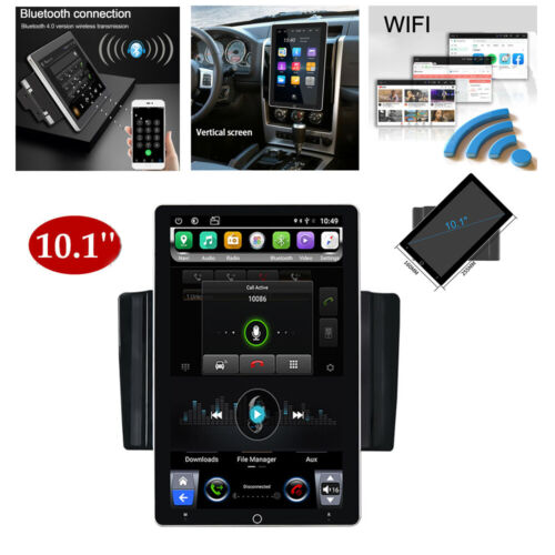 Android 10 Radio 10.1inch Rotatable Car Stereo 2Din Wifi GPS Navi Touch Screen