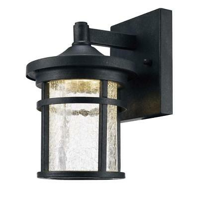 Home Decorators Collection Aged Iron Outdoor LED Wall Lantern - LED-KB S-08304 - Iron Outdoor Wall Mounted Lantern