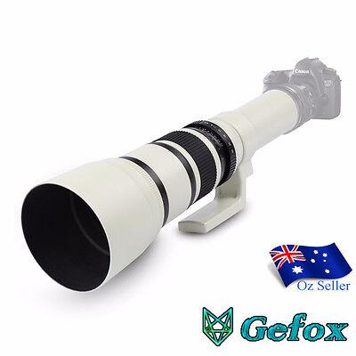 Kelda 500mm F/6.3 T-Mount Super Telephoto Camera Lens for Nikon,Canon,Sony etc