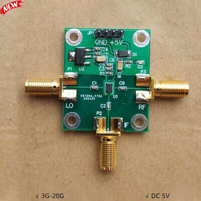 3g-20g Rf Mixer Frequency Mixer For Radio Frequency Diy Makers