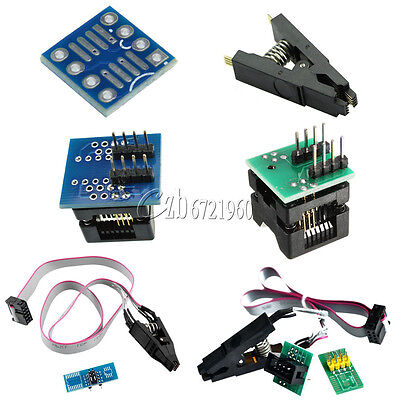 Soic8 Sop8 Chip Ic Test Clips 150200mil Socket Adpter Programmer Converter
