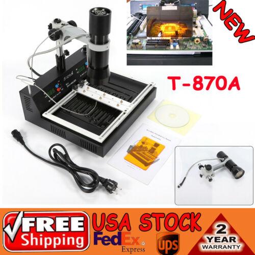 Industrial T870A BGA Rework Station Infrared Solder Desoldering Repair Station