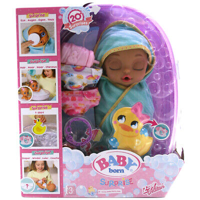 Gebruikt, Baby Born Surprise Baby Bathtub Surprise Doll with 20+ Surprises - 904114 tweedehands  verschepen naar Netherlands