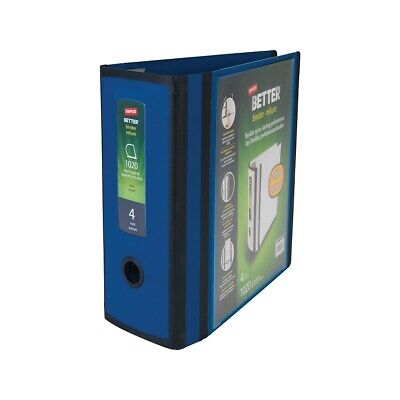 Staples Better 4-inch 3 Ring View Binder Blue 1618290