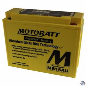 New MOTOBATT BATTERY for DUCATI 400 SS Junior,600 Super Sport,748 Biposto,748E Biposto,748R Superbike,748S Superbike,748