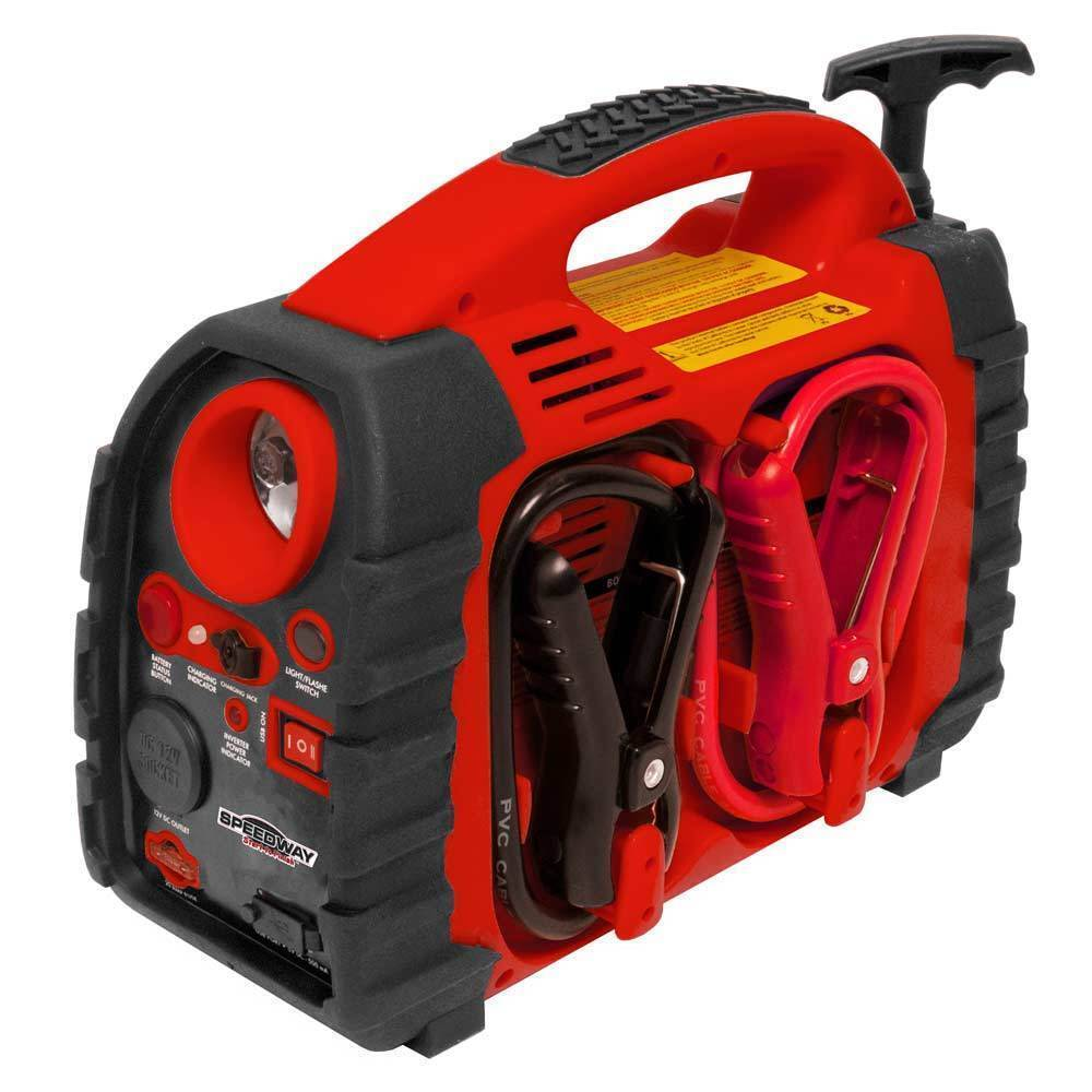 Jump Starter Cable Portable Power Station Auto Tire