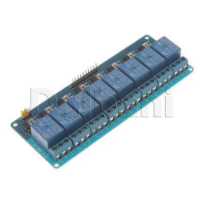 5v 8 Channel Relay Shield Module Arduino Compatible