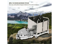 Camping Stove Wood Burning Powered for Picnics, Hiking, Back Packing