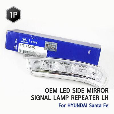 OEM LED Side Mirror Signal Lamp Repeater LH For HYUNDAI 2007 - 2012 Santa Fe