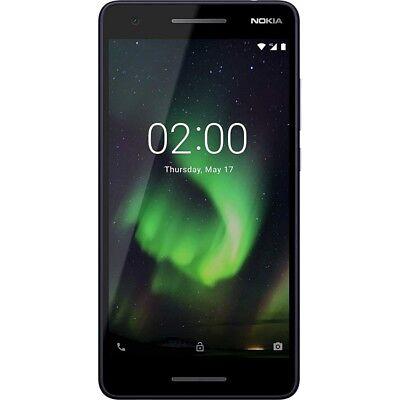 Nokia 2.1 blue silver Android Smartphone Handy LTE/4G 8MP Kamera ohne Vertrag