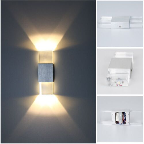 modern wall light up down led sconce lighting lamp outdoor. Black Bedroom Furniture Sets. Home Design Ideas