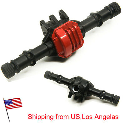 Alloy Front Rear Axle Housing for 1/10 RC Crawler Axial SCX10II 90046 90047 US