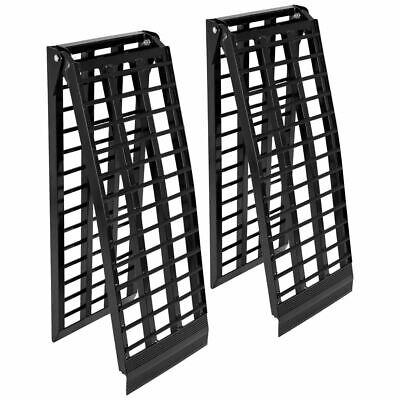 Black Widow BW-10817-HD-2 Aluminum 9' Arched Folding ATV Ramps