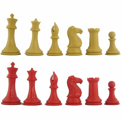 NEW! Red and Camel Elite Tournament Combination Chess -