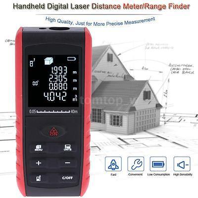 40m/131ft LCD Digital Laser Distance Meter Range Finder Measurement Diastimeter