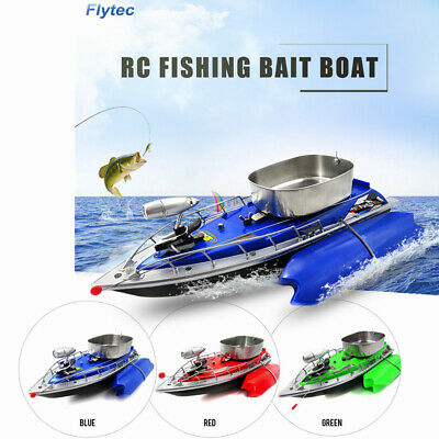 Remote Control Fish (Flytec Electric RC Fishing Bait Boat Remote Control Fish Finder Ship Toys)