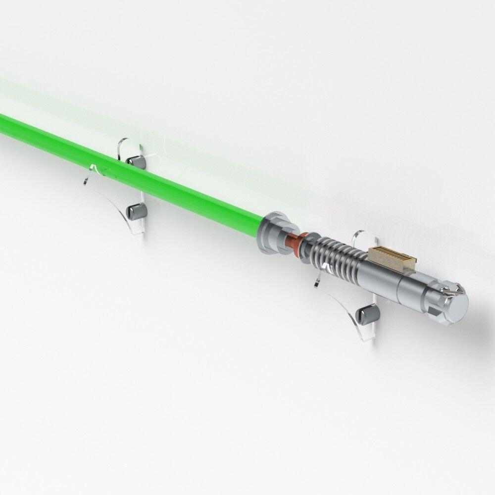 Lightsaber Holder Wall Mount Lightsaber Wall Rack// Star Wars Triple Holder