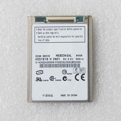 1.8'' 80GB ZIF Hard Disk Drive MK8034GAL For IPOD CLASSIC RE MK8022GAA MK1231GAL 1.8' Zif Hard Disk