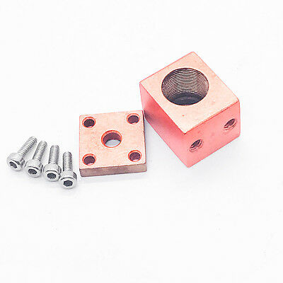 TO5 9mm Red-Copper Laser Diode Host w/ thread hole for MP905 Focus lens