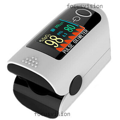 Finger Pulse Oximeters Blood Oxygen Saturation Heart Rate Measuring SpO2 FDA