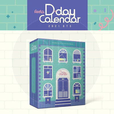 2021 BTS FESTA D-DAY CALENDAR : Celebration of The 8th Aniversary + Tracking Num
