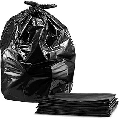 Tasker Trash Bags, For 55 Gallon, Large Black Garbage 50/Case Home & Kitchen