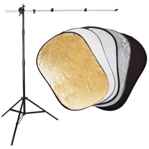 5-in-1 36x24Inch Collapsible Reflector and Diffusion Panel for Photography