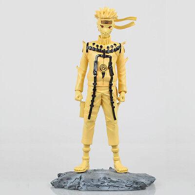 Anime Naruto Uzumaki with base(Kyubi Form) 1/6 Scale 11'' Action Figure PVC Doll