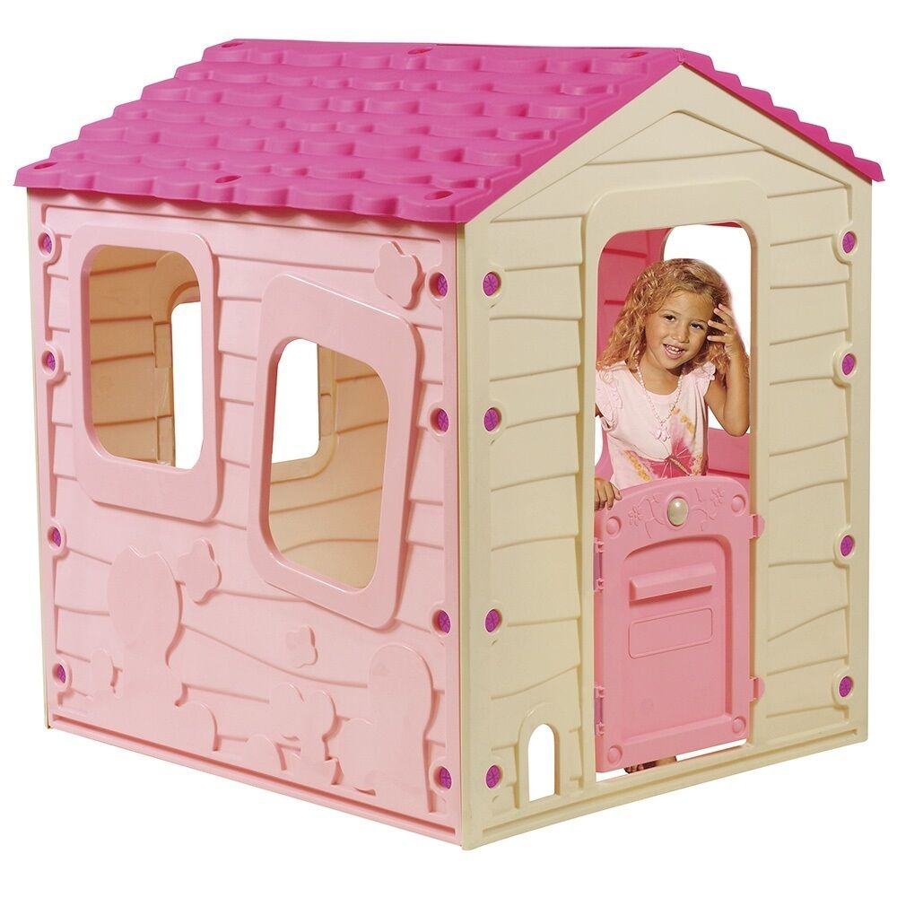 Outdoor Playhouses Toy : Childrens playhouse kids garden play house toy girl